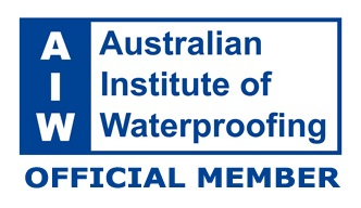 AWS is an official member of the Australian Institute of Waterproofing